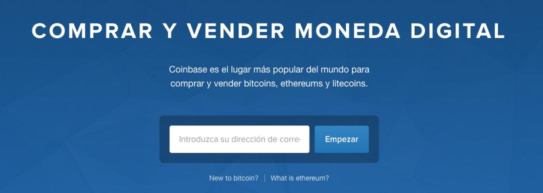 Coinbase registro